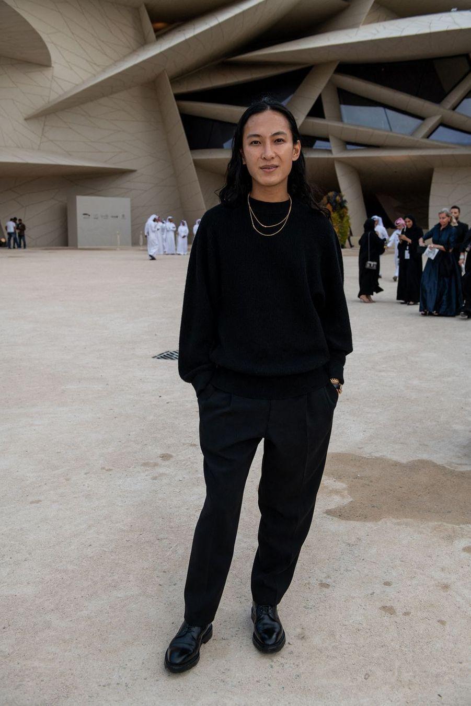 Alexander Wangà l'inauguration du musée national du Qatar à Doha le 27 mars 2019