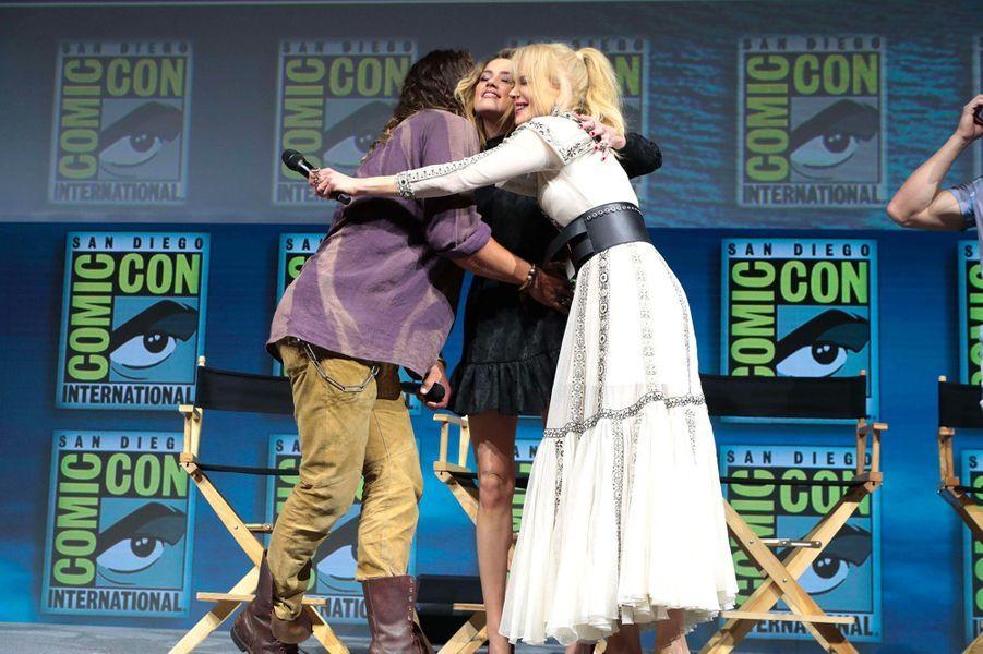 Amber Heard au Comic-Con de San Diego avec Jason Momoa et Nicole Kidman