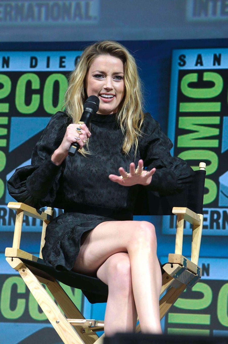 Amber Heard au Comic-Con de San Diego