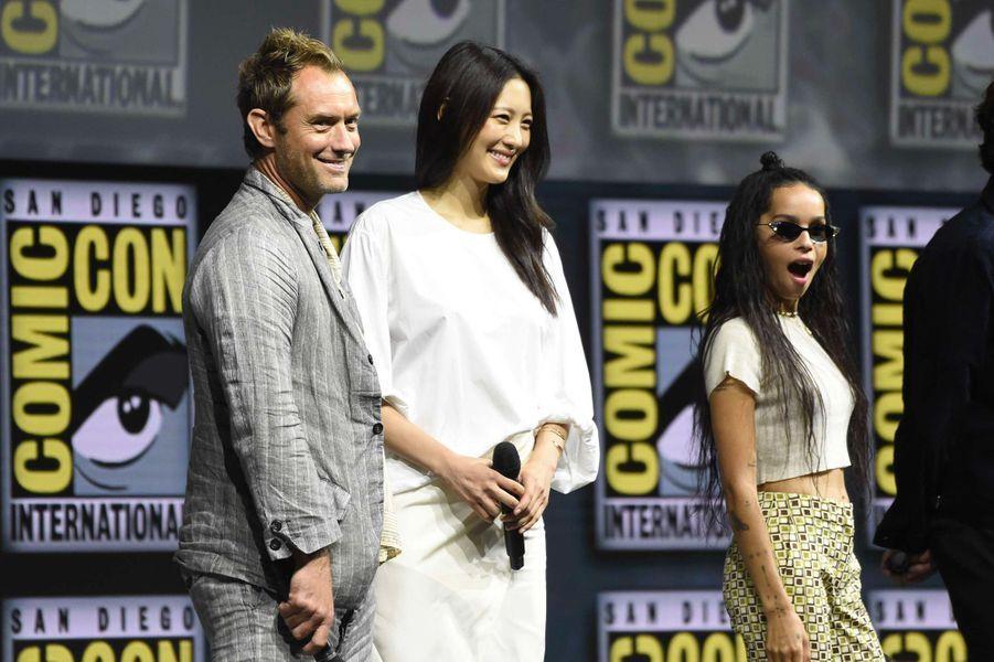 """Le casting des """"Animaux Fantastiques 2"""" au Comic-Con de San Diego"""