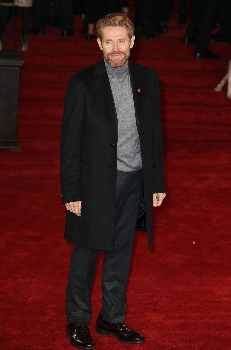 Willem Dafoe à l'avant-première du «Crime de l'Orient-Express», à Londres, le 2 novembre 2017.