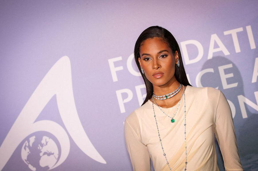 Cindy BrunaauMonte-Carlo Gala for Planetary Health organisé par la Fondation Prince Albert II de Monaco le 24 septembre 2020