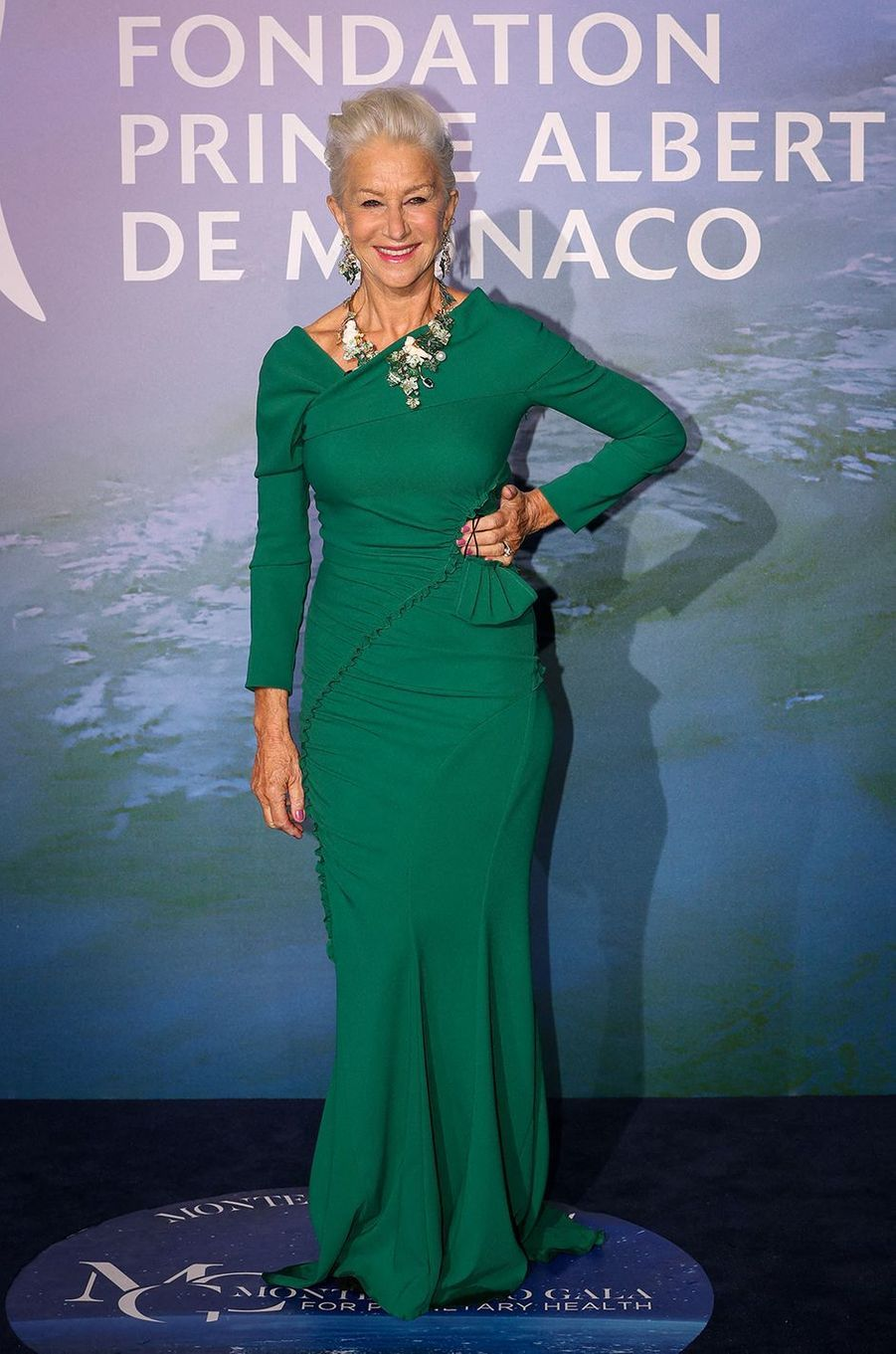 Helen MirrenauMonte-Carlo Gala for Planetary Health organisé par la Fondation Prince Albert II de Monaco le 24 septembre 2020