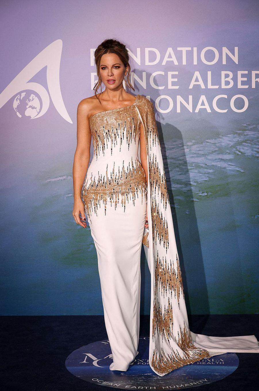 Kate BeckinsaleauMonte-Carlo Gala for Planetary Health organisé par la Fondation Prince Albert II de Monaco le 24 septembre 2020