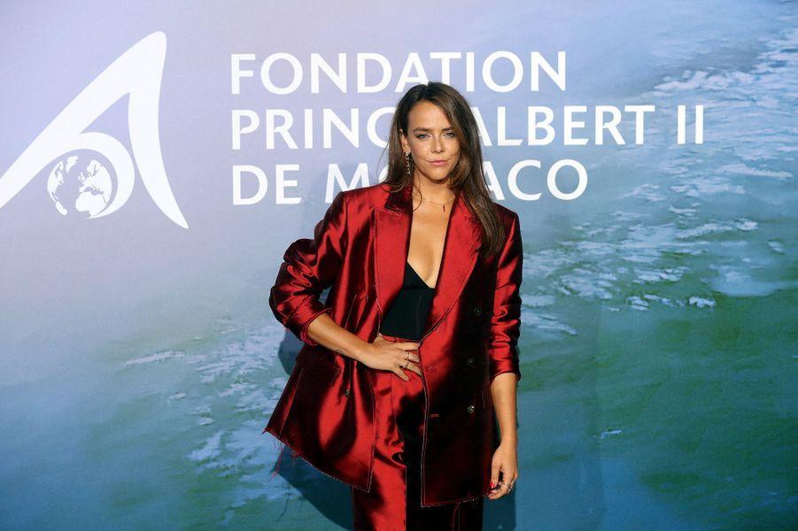 Pauline DucruetauMonte-Carlo Gala for Planetary Health organisé par la Fondation Prince Albert II de Monaco le 24 septembre 2020