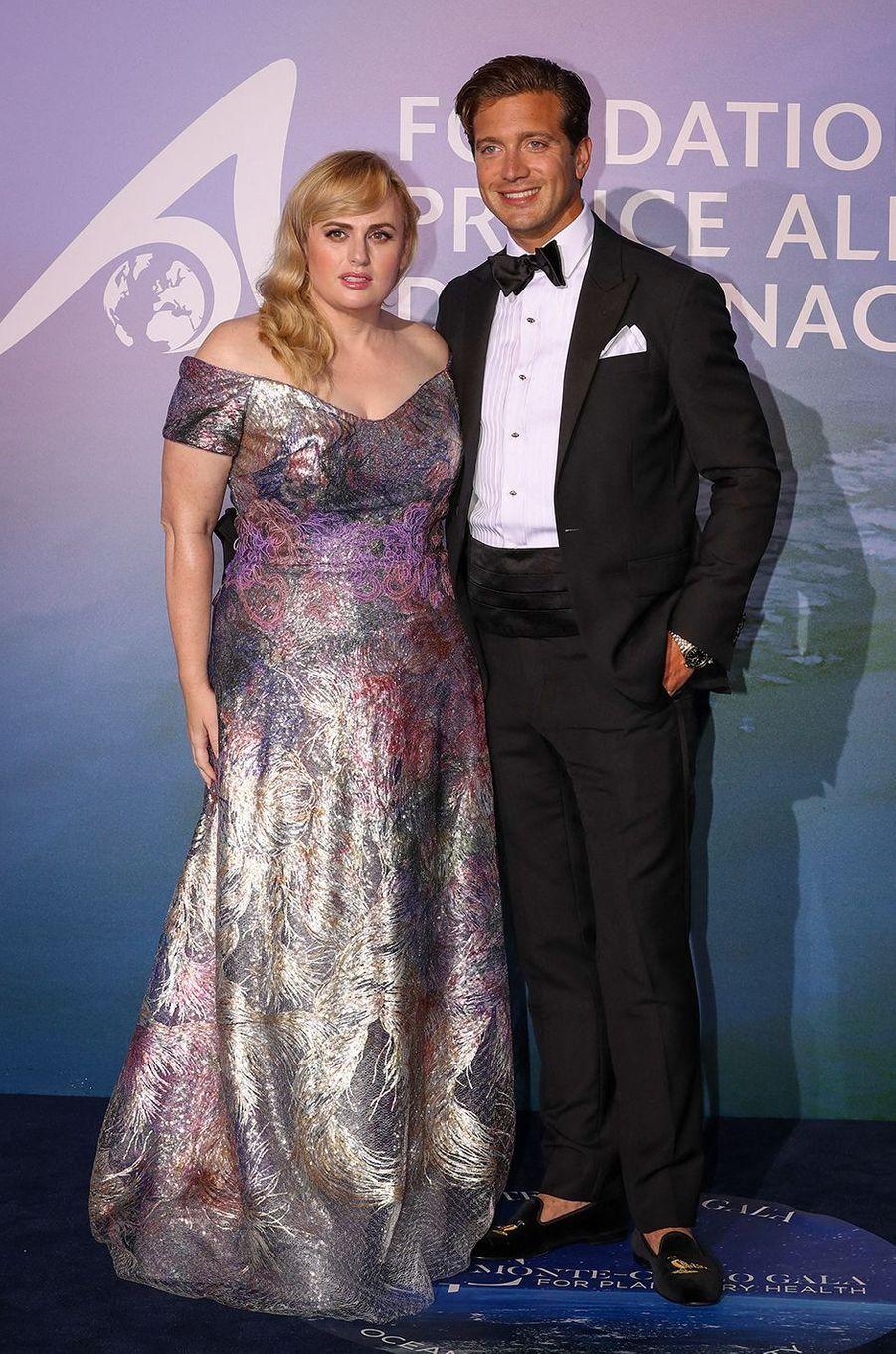Rebel Wilson et son petit ami Jacob BuschauMonte-Carlo Gala for Planetary Health organisé par la Fondation Prince Albert II de Monaco le 24 septembre 2020