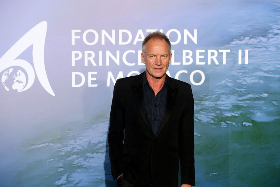 StingauMonte-Carlo Gala for Planetary Health organisé par la Fondation Prince Albert II de Monaco le 24 septembre 2020