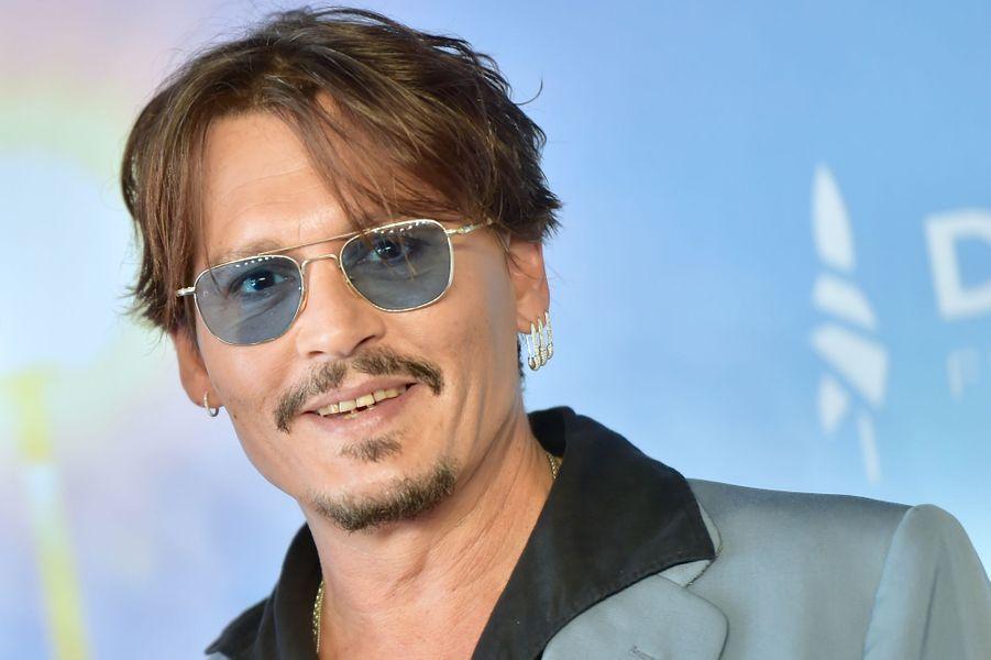 Johnny Depp au Festival de Deauville