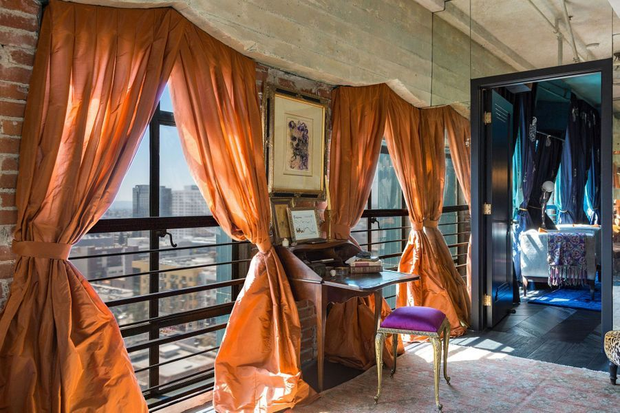 Le loft de Johnny Depp à Los Angeles