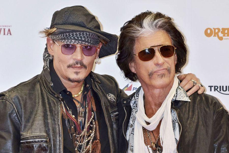 Johnny Depp et Joe Perry