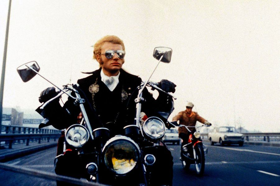 """Johnny Hallyday dans le film """"A tout casser"""", sorti en 1968."""