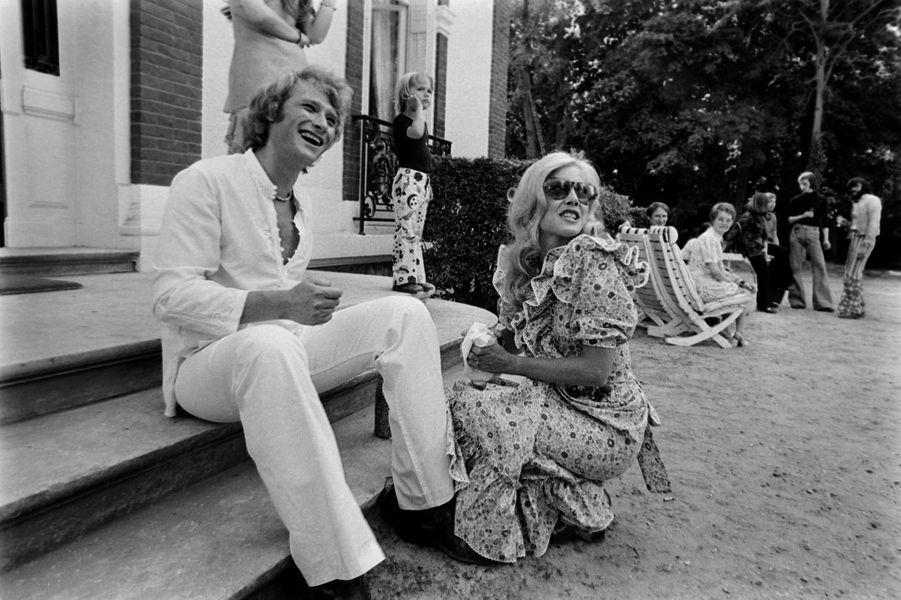 Johnny Hallyday et Sylvie Vartan, l'histoire d'un premier amour.