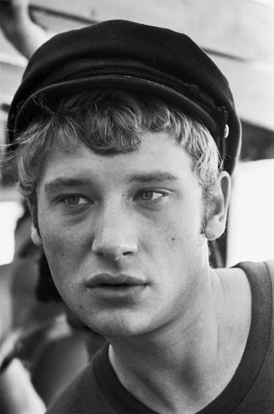 Johnny Hallyday en 1965.