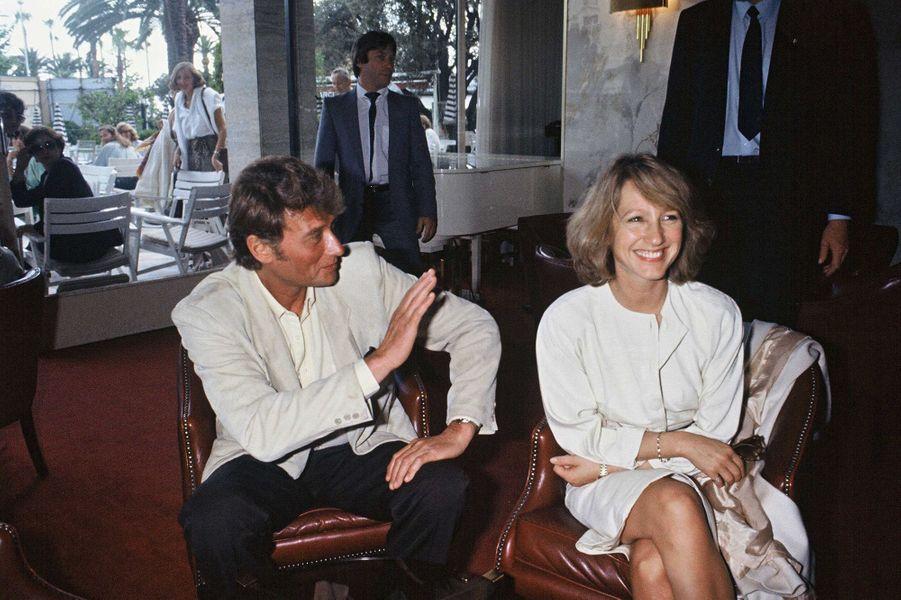 Johnny Hallyday et Nathalie Baye, une histoire d'amour.