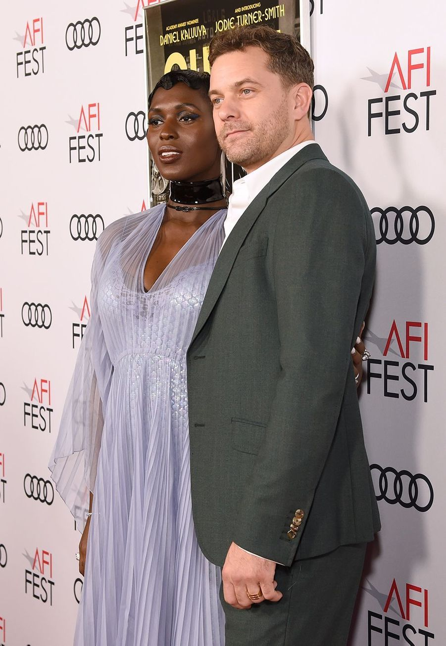 Jodie Turner-Smith et Joshua Jackson à l'avant-première du film «Queen & Slim» lors de l'AFI Fest à Los Angeles le 14 novembre 2019