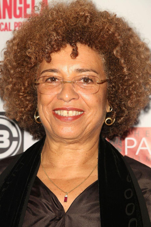 Militante des droits de l'homme, Angela Davis (75 ans) s'est consacrée au mouvement de libération des Afro-Américains et au féminisme.