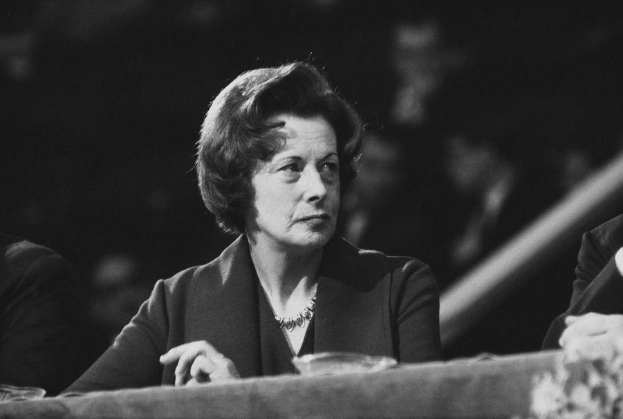 Barbara Castle (1910-2002) a œuvré pour instituer l'égalité des salaires entre les hommes et les femmes au Royaume-Uni.