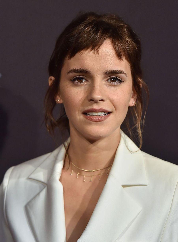 Emma Watson (28 ans) est une personnalité engagée dans la lutte contre les violences infligées aux femmes. Elle a notamment fait la promotion de la campagne «HeforShe» pour l'égalité des sexes.