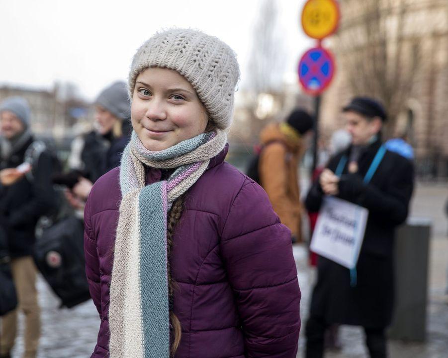 Âgée de 16 ans, Greta Thunberg est un modèle de maturité et d'engagement en faveur de l'écologie.