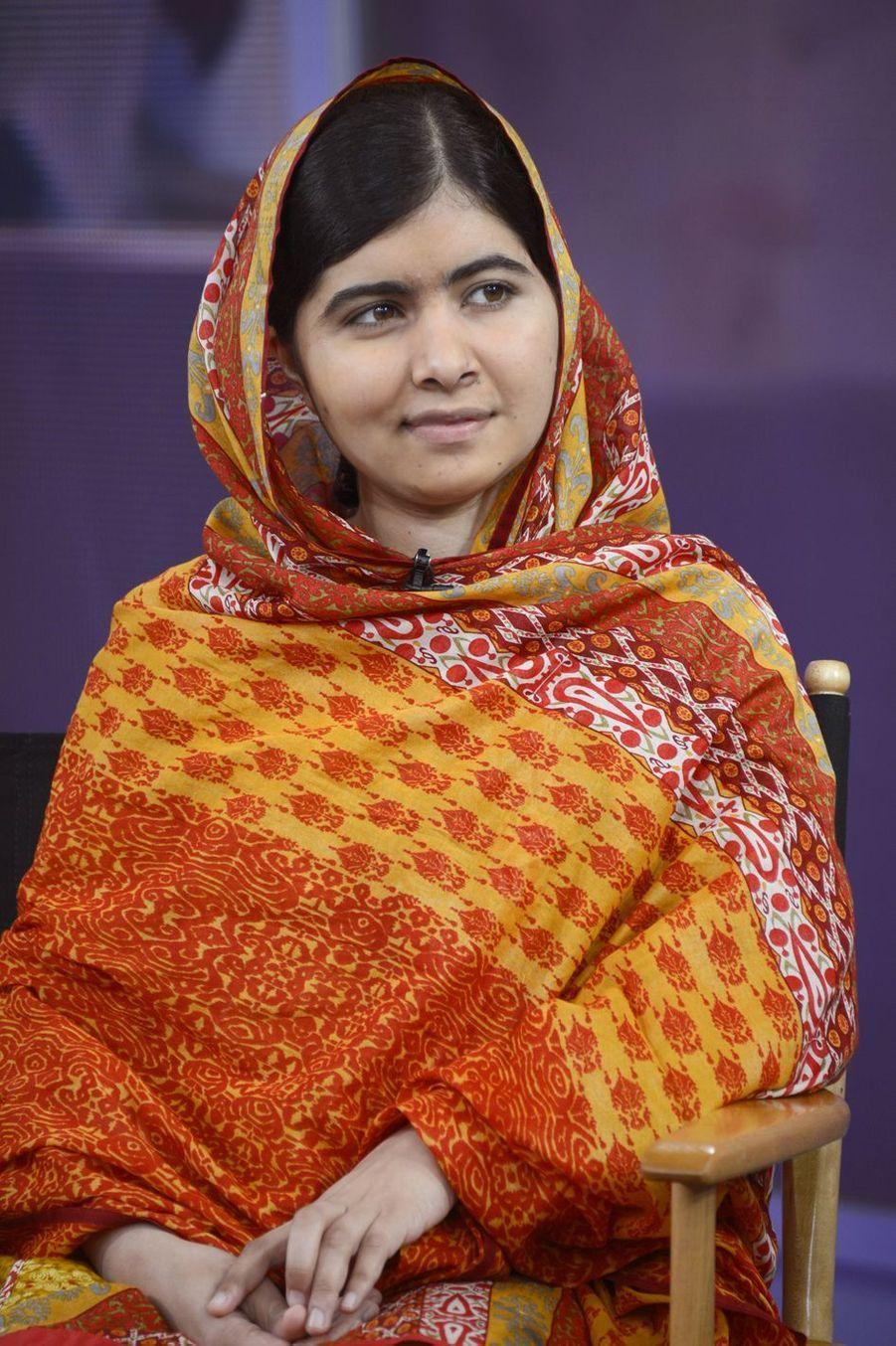 Symbole de la jeunesse opposée aux talibans, Malala Yousafzai (21 ans) est un modèle de courage et de maturité.