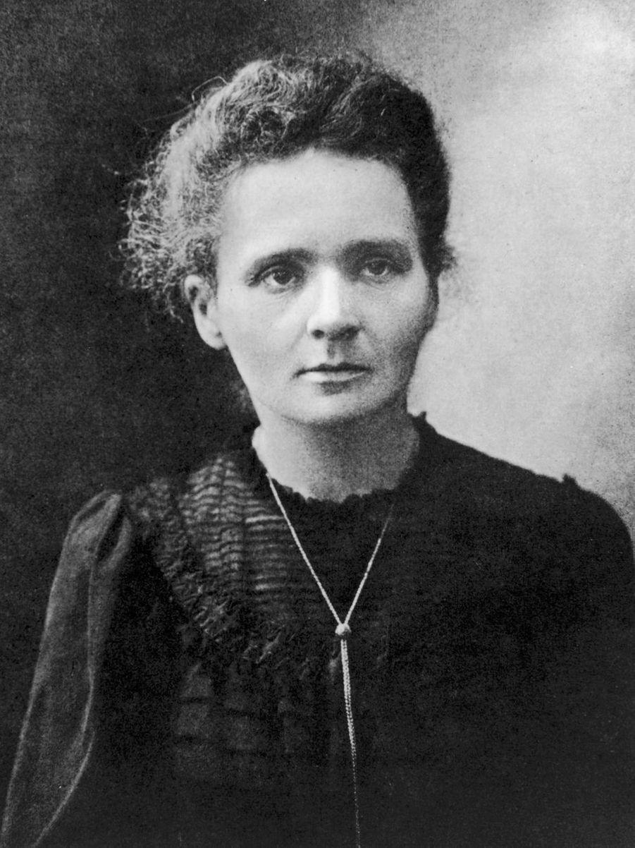 Figure féminine scientifique, Marie Curie (1867-1934) reçut le prix Nobel de Physique en 1902 et le prix Nobel de Chimie en 1911.