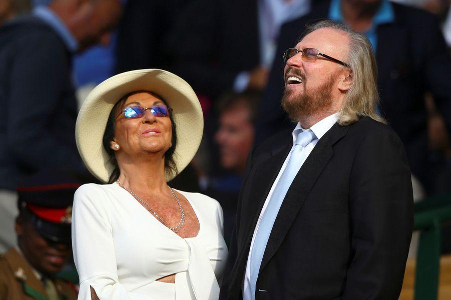 Barry Gibb à Wimbledon.