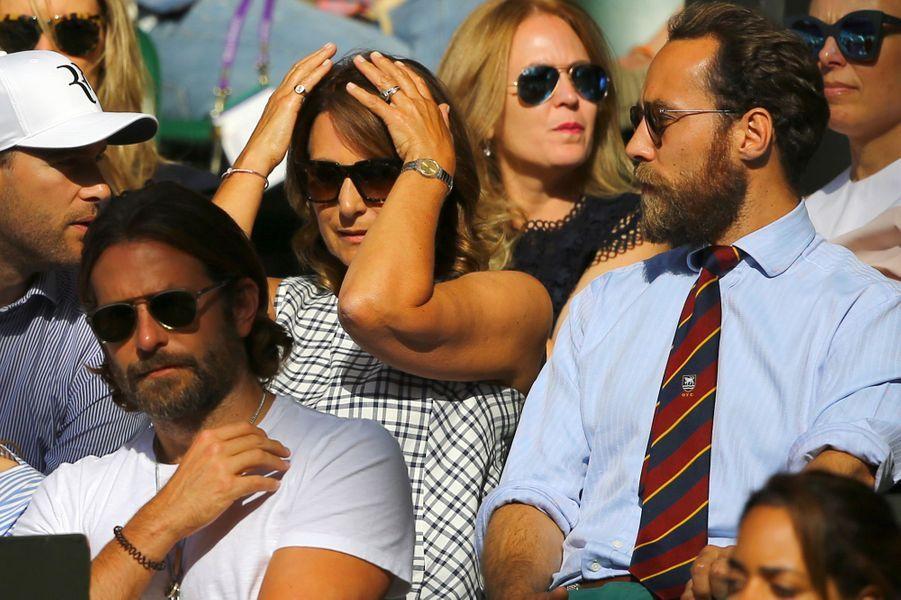 Carole et James Middleton, Bradley Cooper à Wimbledon.