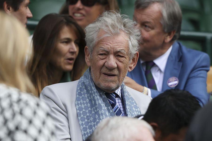 Ian McKellen à Wimbledon.