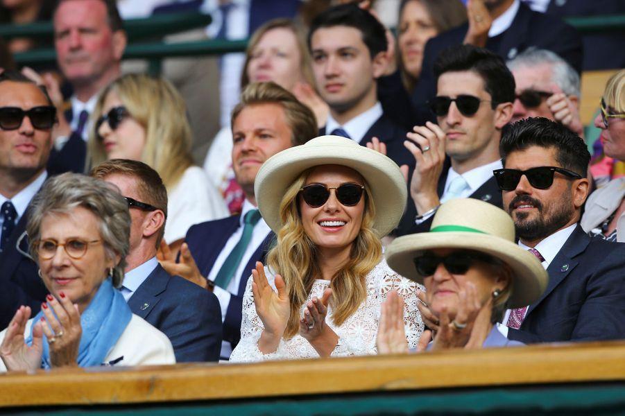 Katherine Jenkins à Wimbledon.