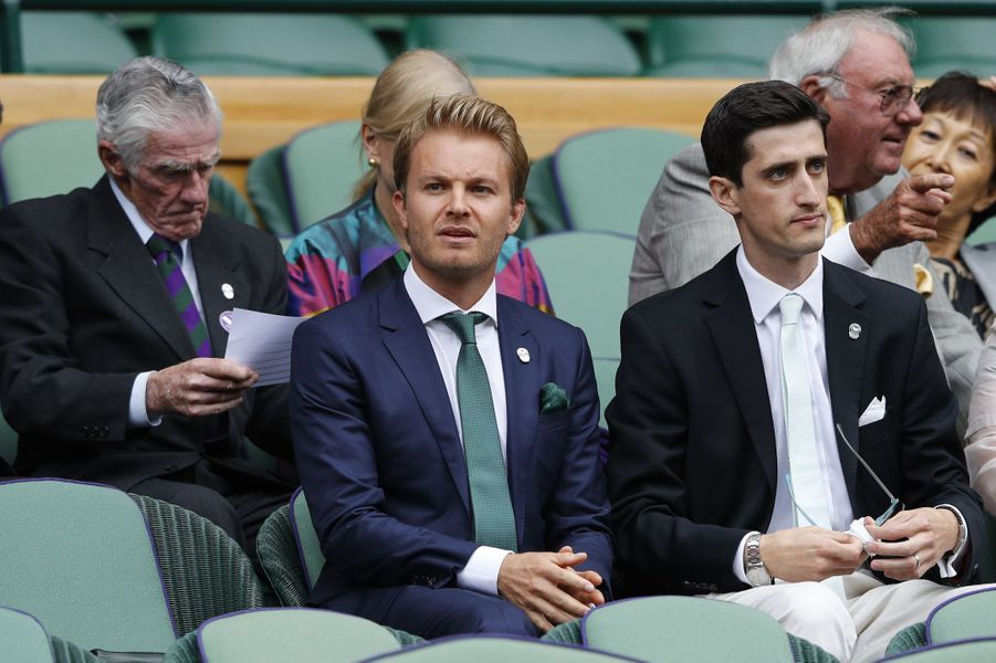 Nico Robserg à Wimbledon.