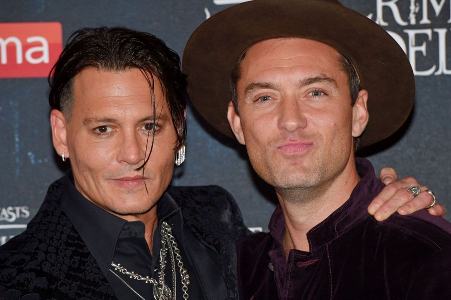 Jude Law et Johnny Depp