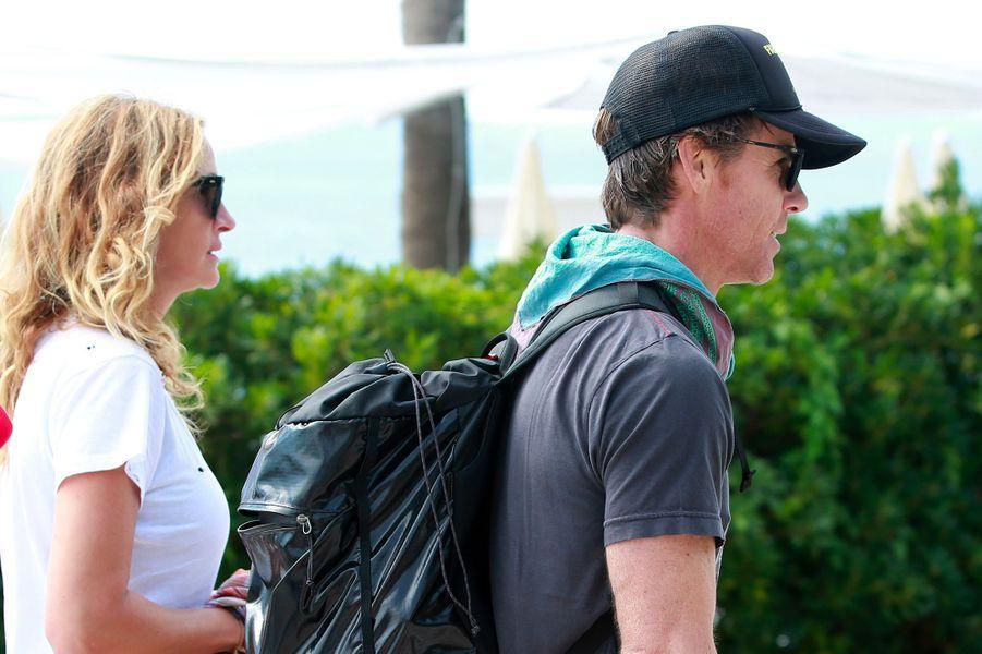 Julia Roberts et son mari Daniel Moder en Croatie