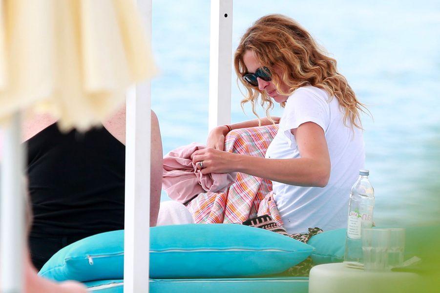 Julia Roberts en vacances en Croatie