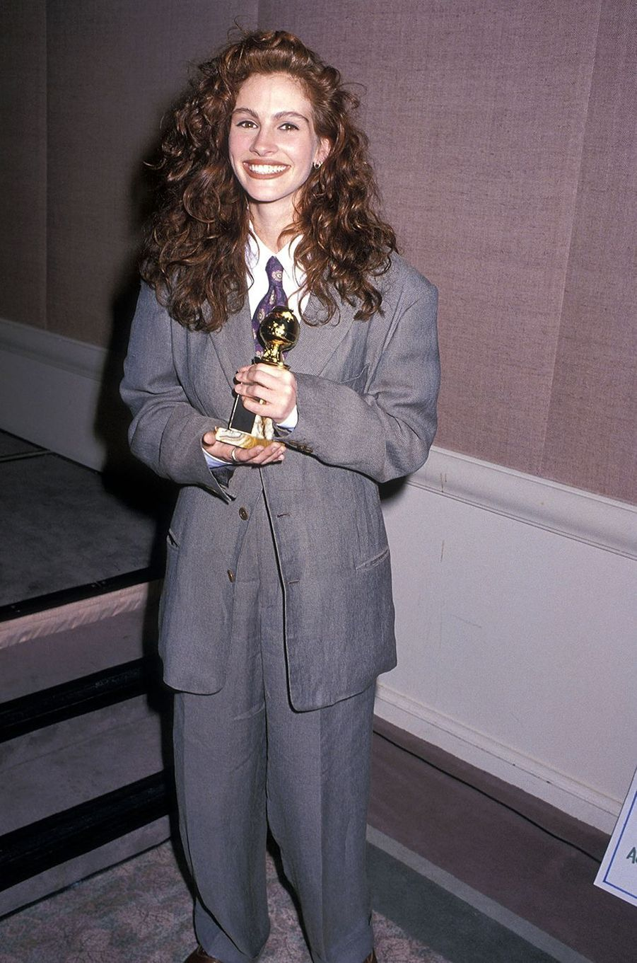 Julia Roberts en 1991.