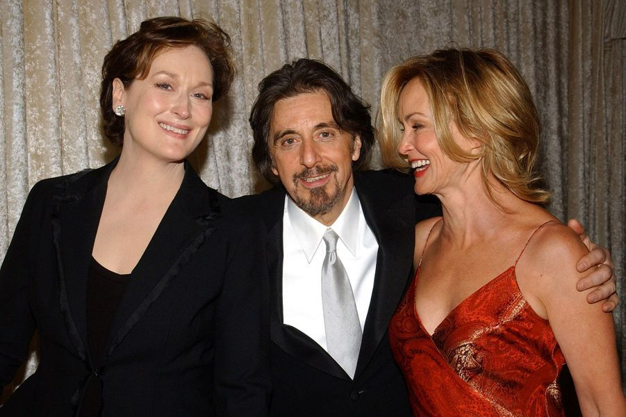 Meryl Streep, Al Pacino et Jessica Lange en 2004.