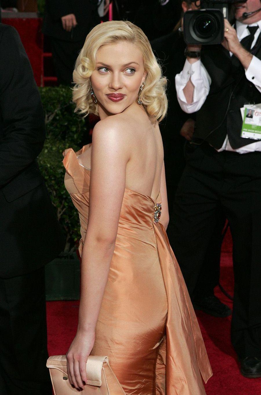Scarlett Johansson en 2005.