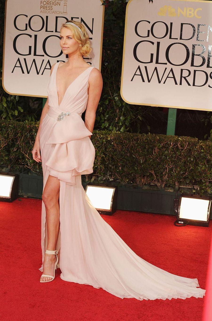 Charlize Theron en 2012.