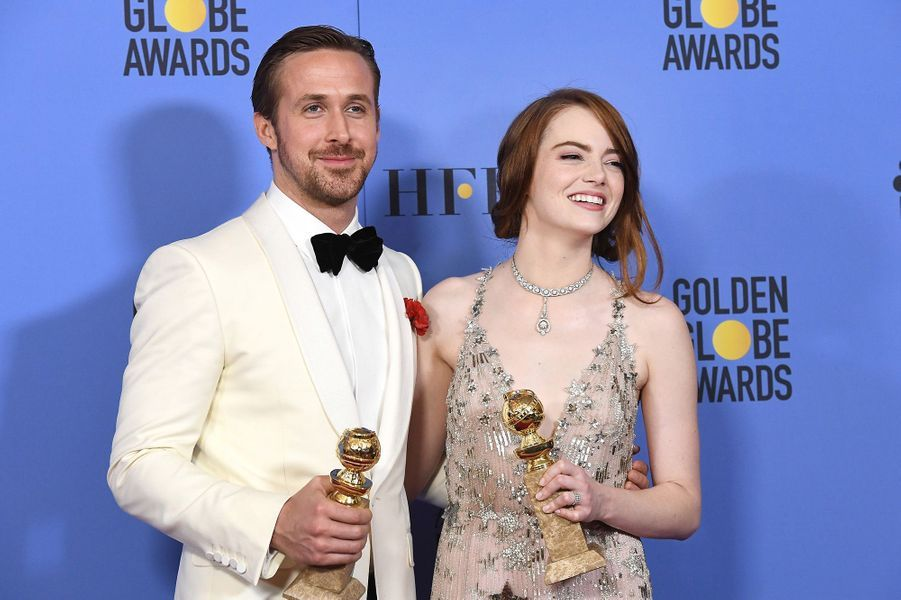 Ryan Gosling et Emma Stone en 2017.