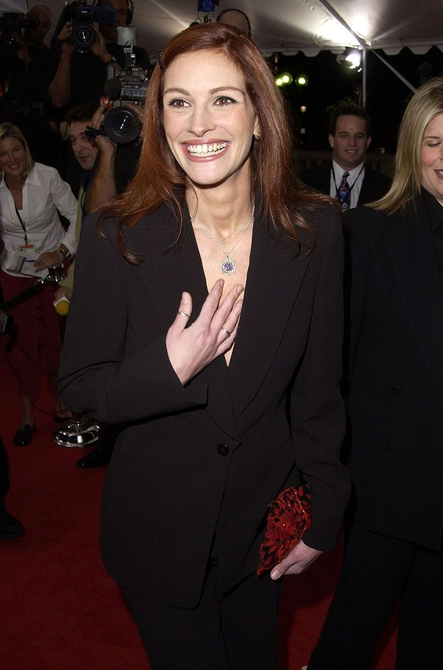 Julia Roberts en 2002.