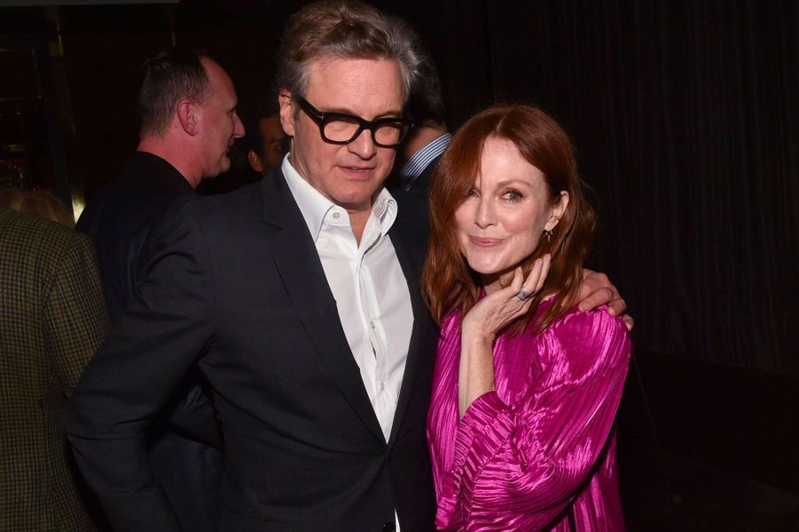 Julianne Moore et Colin Firth