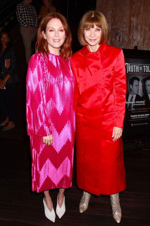 Julianne Moore et Anna Wintour