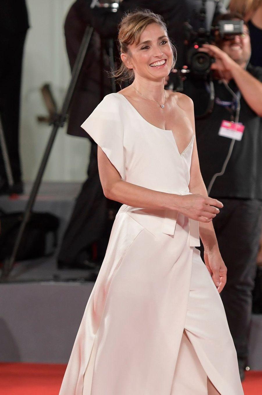 Julie Gayet à Venise, le 31 août 2017.