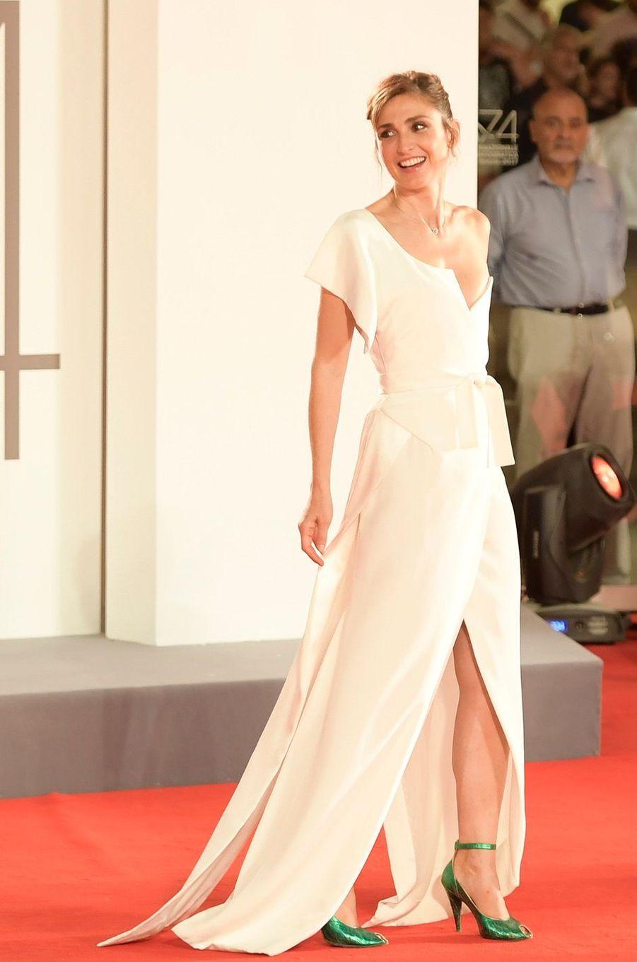 Julie Gayet au Festival de Venise, le 31 août 2017.
