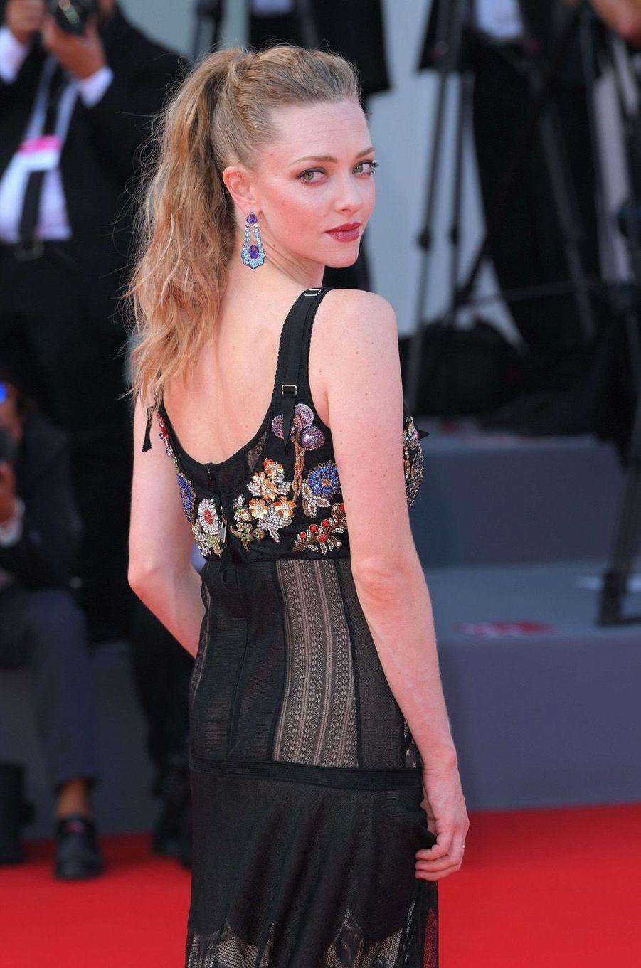 Amanda Seyfriedà la Mostra de Venise, le 31 août 2017.