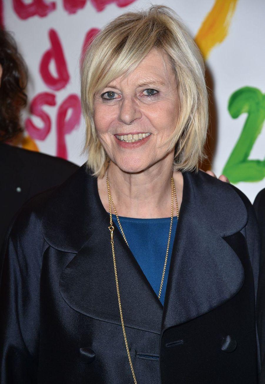 Chantal Ladesouau Gala de l'Espoir de la Ligue contre le cancer au Théâtre des Champs-Elysées à Paris le 22 octobre 2019
