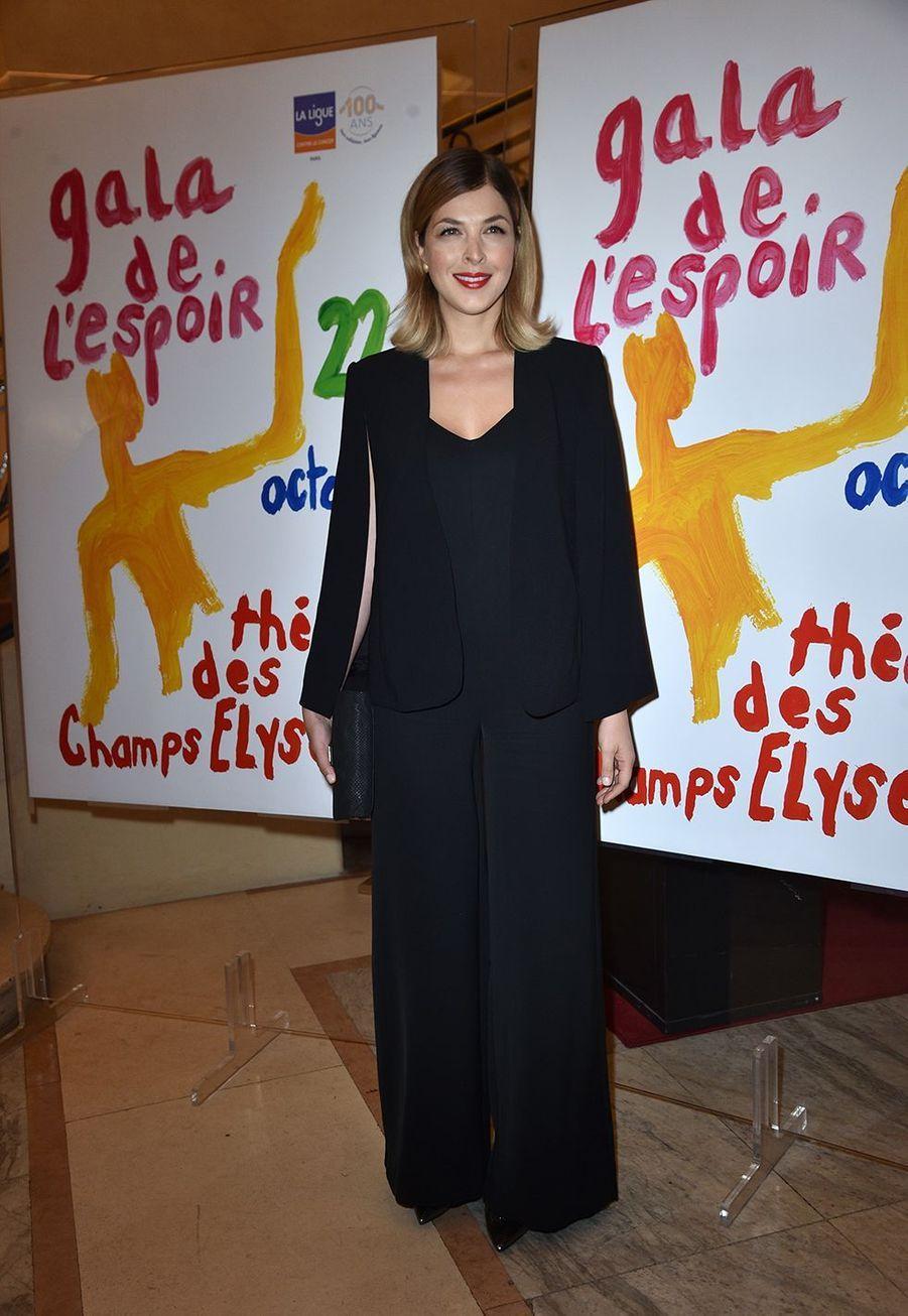 Eléonore Boccaraau Gala de l'Espoir de la Ligue contre le cancer au Théâtre des Champs-Elysées à Paris le 22 octobre 2019