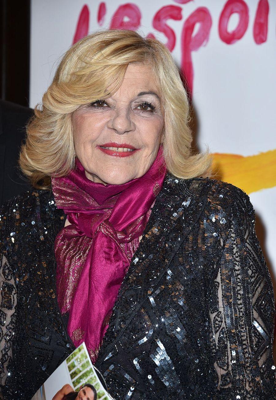 Nicolettaau Gala de l'Espoir de la Ligue contre le cancer au Théâtre des Champs-Elysées à Paris le 22 octobre 2019