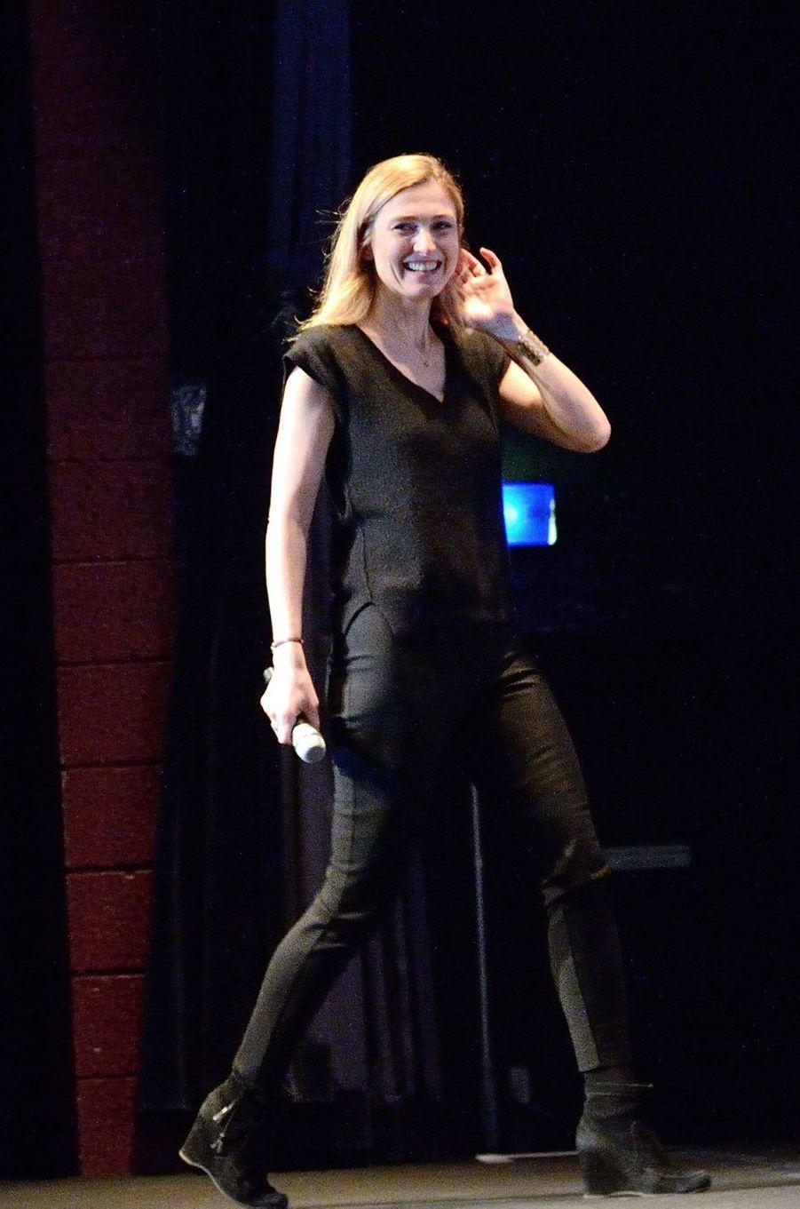 """Julie Gayet au Fantastic'Art de Gérardmer pour """"Grave""""."""