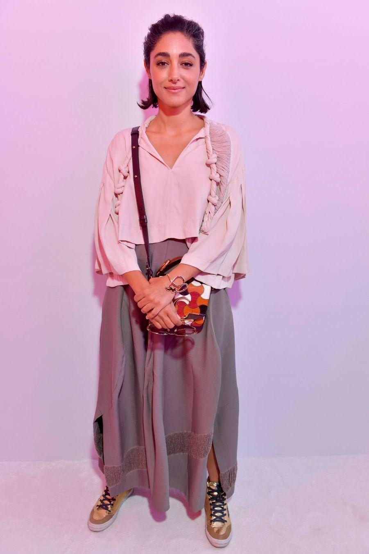 Golshifteh Farahaniau défilé Chloé lors de la Fashion Week à Paris le 28 février 2019