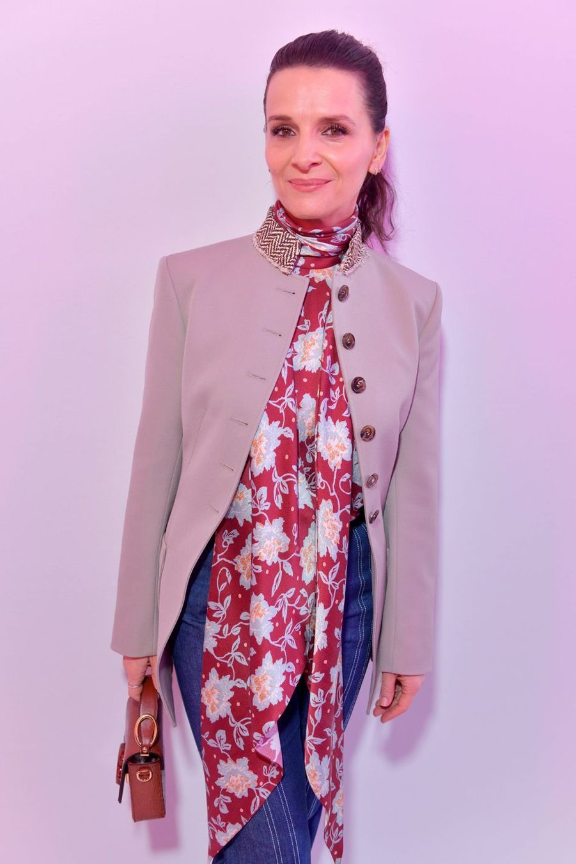 Juliette Binocheau défilé Chloé lors de la Fashion Week à Paris le 28 février 2019